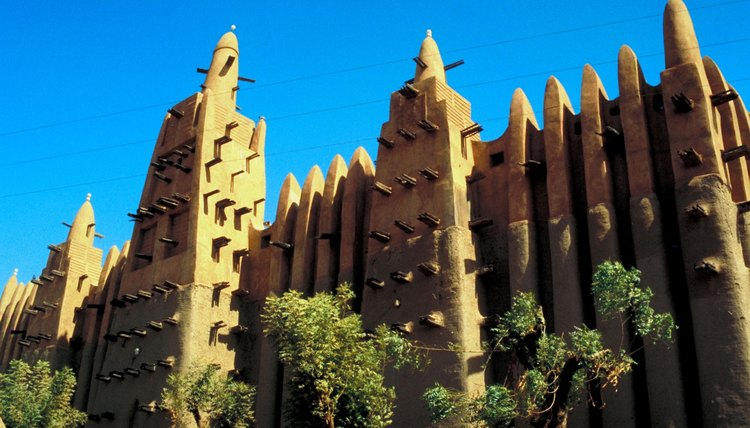 The Great Mosque of Djenne is an Islamic landmark in Mali.