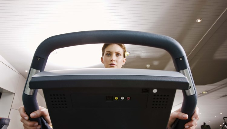 How to Stop Interference on the TV From a Treadmill