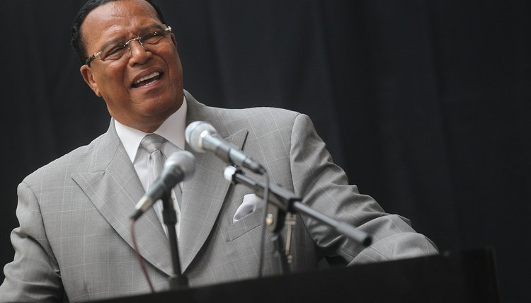Louis Farrakhan, leader of the Nation of Islam, reinstated the group's teachings about race.