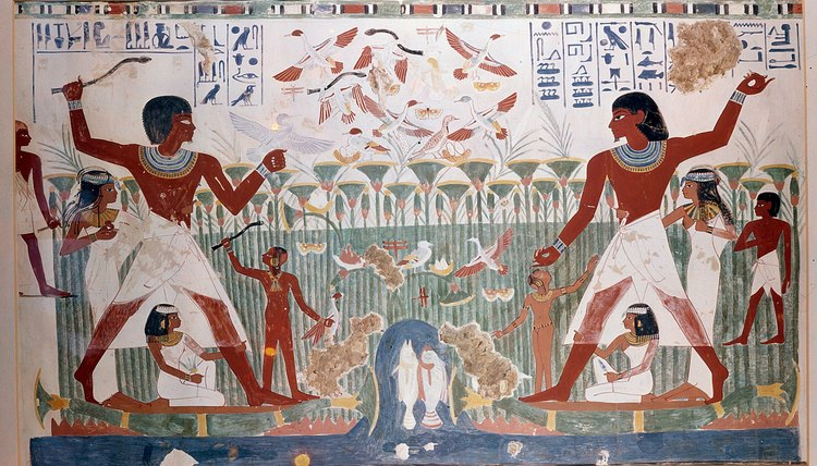 Religion and daily life were interconnected in ancient Egypt.