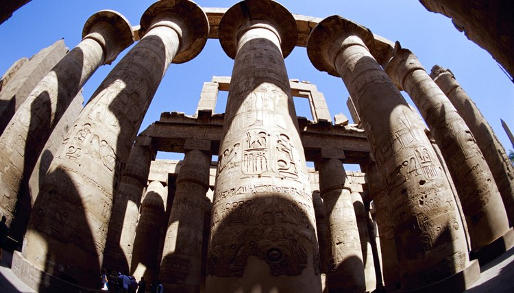 The temple of Luxor is where the Opet festival was celebrated.