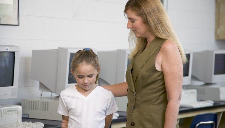 Teachers must address unacceptable behavior.