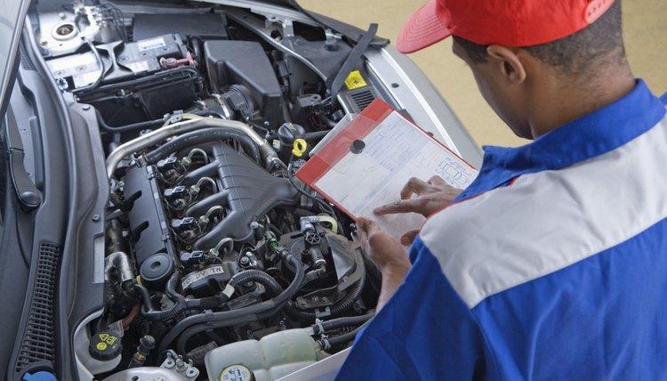 mechanic fixing car. Resume Example. Resume CV Cover Letter