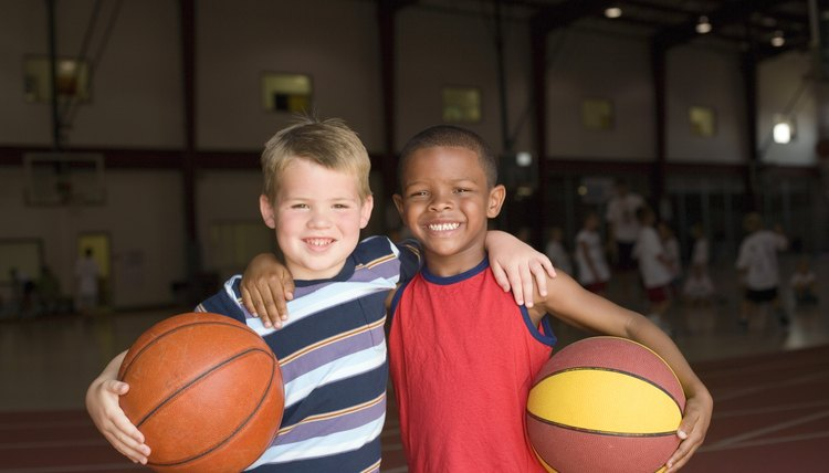 After-school programs sometimes center around a sport.