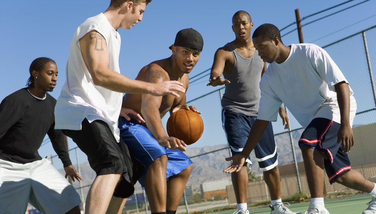 How to Guard a Bigger Player in Basketball