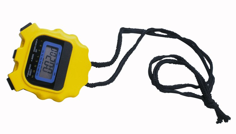 How to Set a Sports Timer Stopwatch