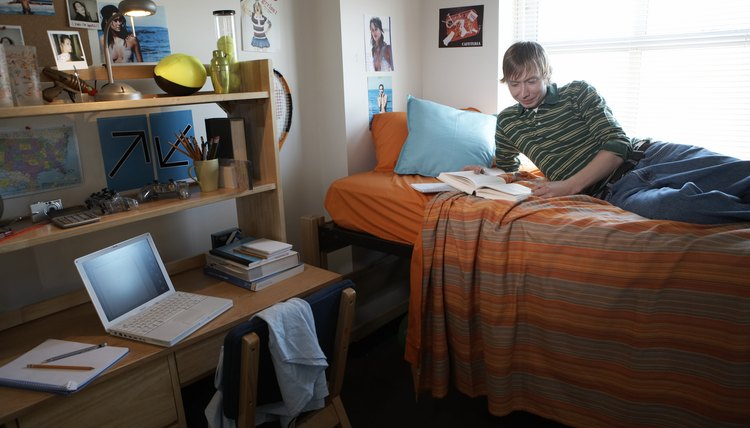 Dorm living may lead to financial savings, but cost a student his privacy.