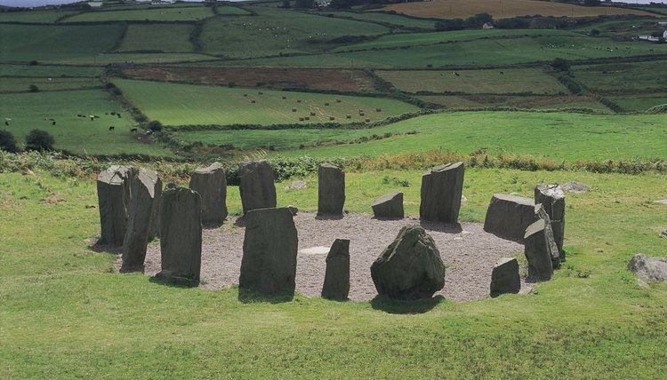 Stone circles are a concrete reminder of Europe's pre-Christian past.