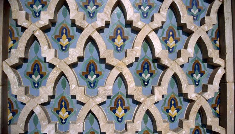 Geometric patterns are a stylistic tendency of Abbasid Era art.