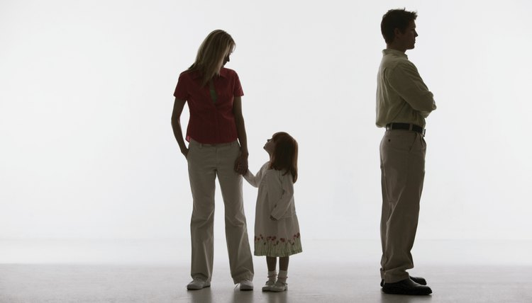 Texas divorce laws determine married parents' custodial rights.