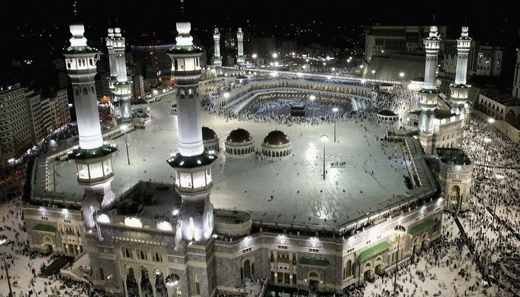 Mecca, the birthplace of Muhammad, is the religious center of Islam.