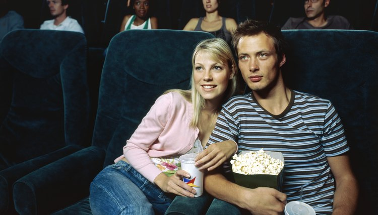 Cuddling up with a romantic movie could strengthen your relationship.