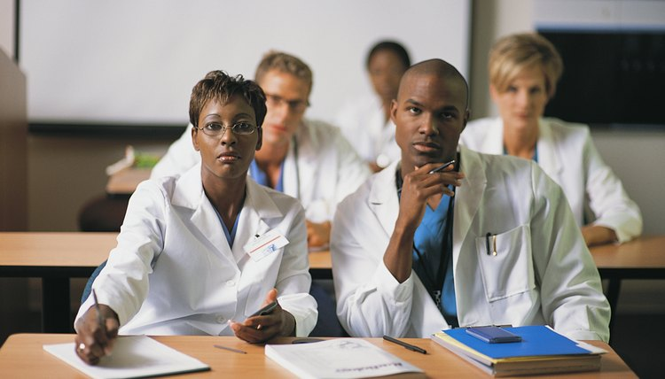 Future doctors must go through at least eight years of higher education.