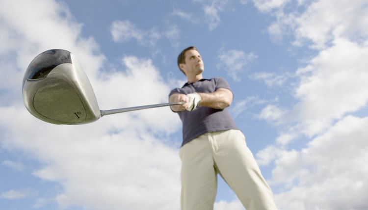 Swing weights in golf clubs identify how heavy a club is and how the weight is distributed.