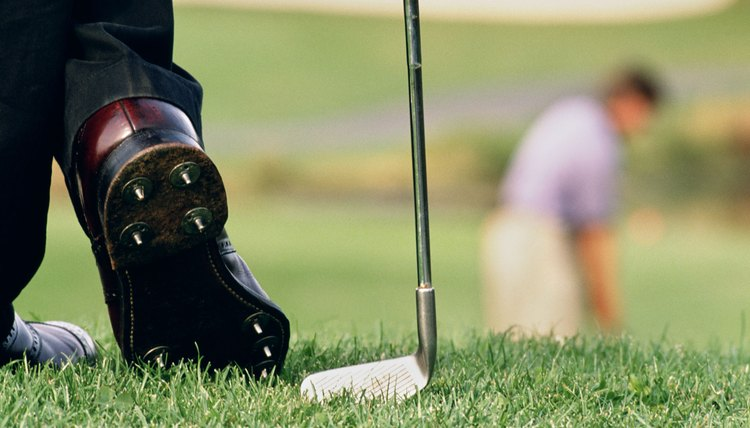 Sore feet can limit your follow-through during your golf swing.