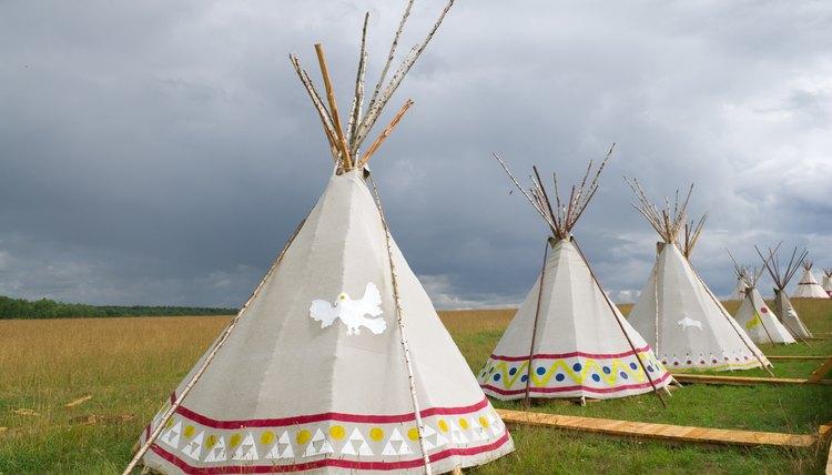 Cherokee dwellings