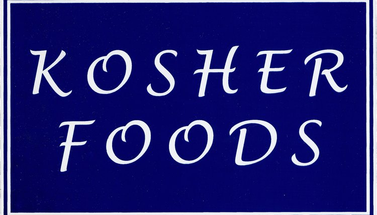 Many Jews keep kosher.