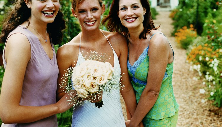 Enjoy all of the love and support than can come from having a large bridal party.
