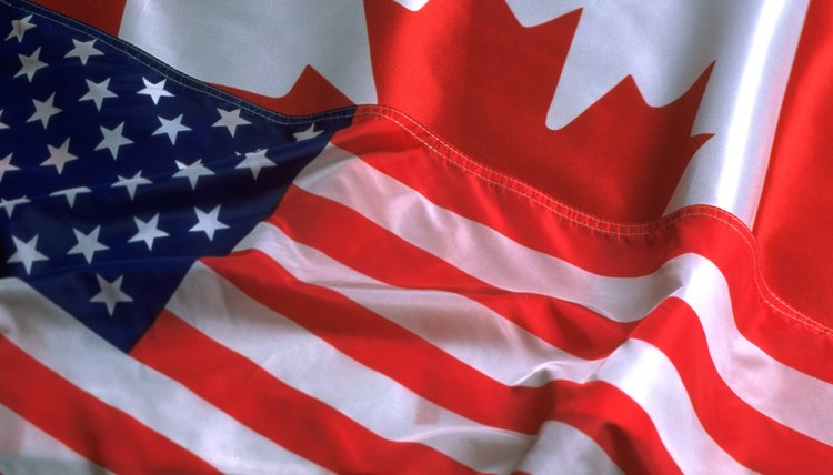 The U.S. and Canadian governments choose officials and balance power differently.