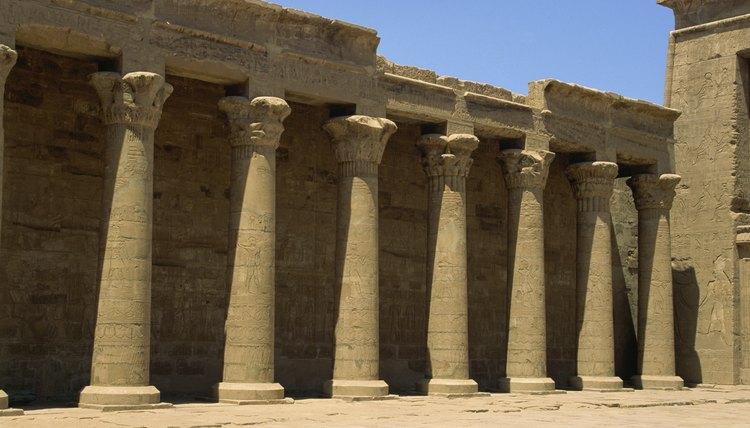 Under Akhenaten's reign, traditional religious temples were closed.