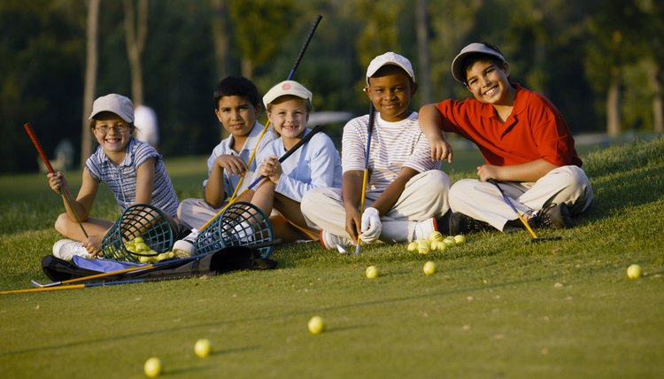 Beginning golfers should start with the basics and group lessons with other beginners is a great place to start.