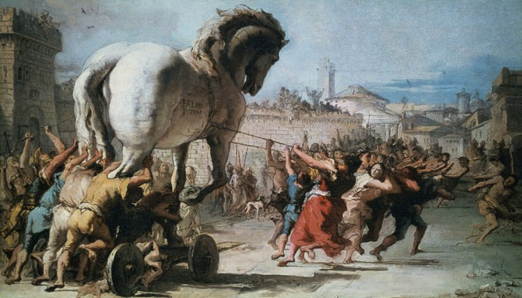 Greek mythology tells about the Trojan War, which ended in genocide.