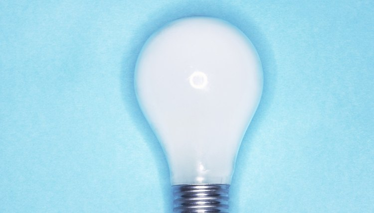 Light bulbs require power at specified voltages.