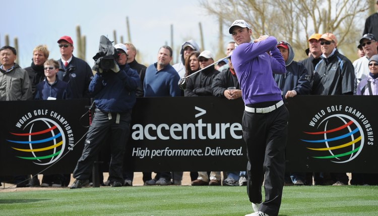 Match play competitions, such as the Accenture Match Play Championship, are governed by the Rules of Golf.