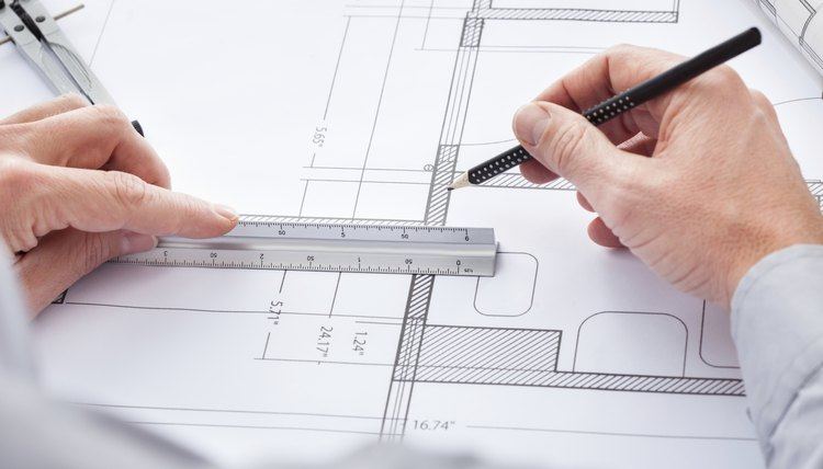 Draftsman job description career trend architect drawing on blueprint malvernweather Images