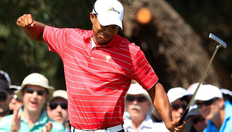Tiger Woods is known for his tremendous confidence.