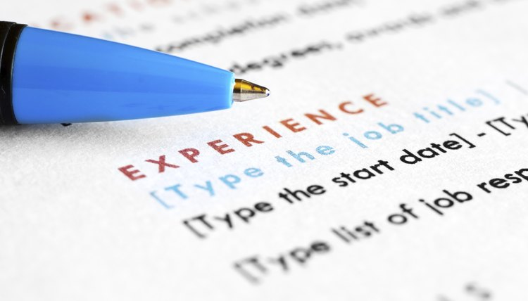 how to write a resume when you change careers career trend