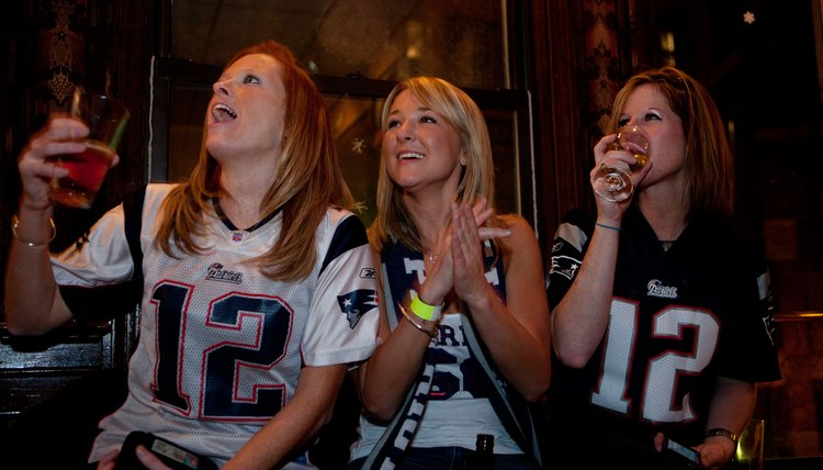 There are more clothing options today for female football fans than ever before.
