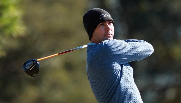 Golf apparel can be both practical and comfortable, even in cold weather.