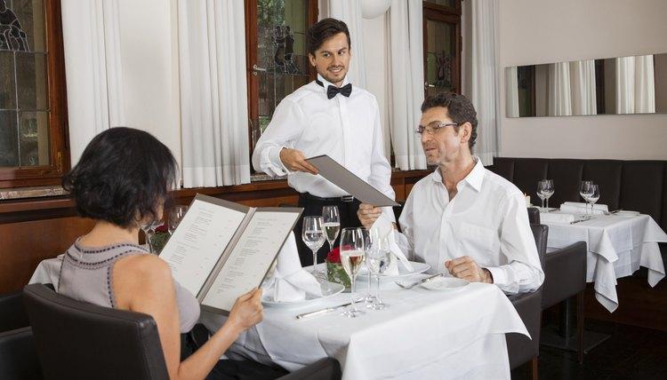 Waiter Etiquette For Fine Dining