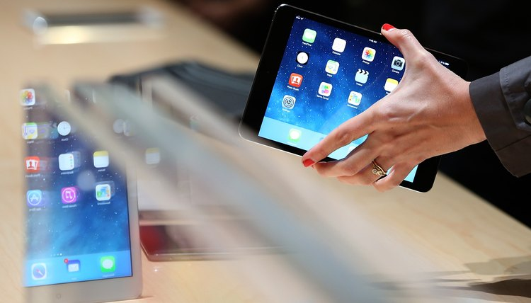 Restore iOS on your iPad to reset the tablet to factory defaults.