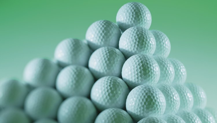 Golf balls are tested to conform to the Rules of Golf.