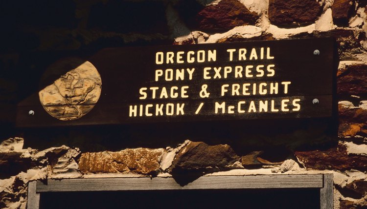 Many emigrants found their way to Oregon along the Oregon Trail.