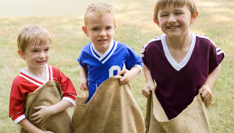 Group gross motor activities can help students develop healthy bodies and minds.