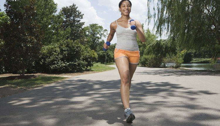How Many Calories Burned in 40 Minutes of Walking & Running?