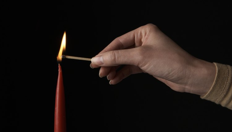It is a Wiccan belief that nothing is more likely to help an individual achieve sturdy health and insurmountable courage than a red candle used in spellcraft.