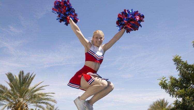 Beginning Cheerleading Stunts
