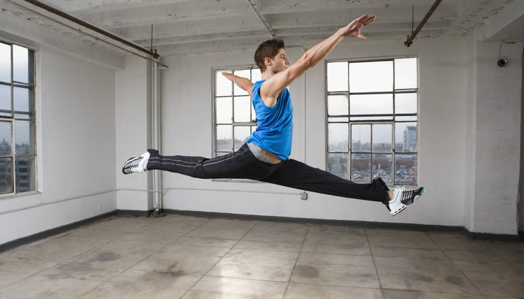 How to Get Your Back Leg Up When Leaping