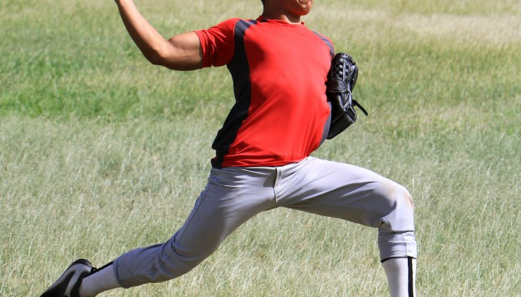 How to Care for Sore Biceps & Triceps From Throwing a Baseball