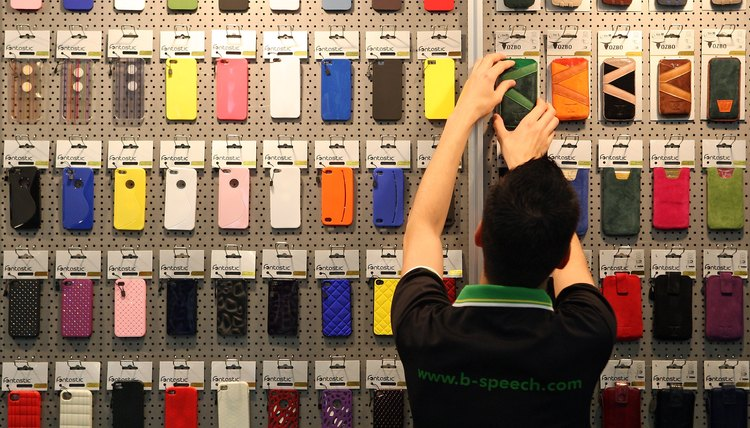 Many companies other than Apple sell iPhone cases.