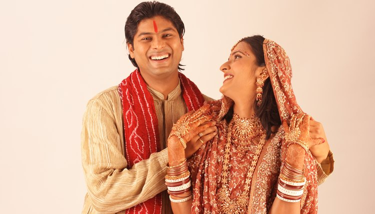 Some Hindu weddings are arranged by the families of the bride and groom.