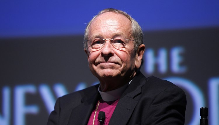 Gene Robinson is the Episcopal Church's first openly gay bishop.