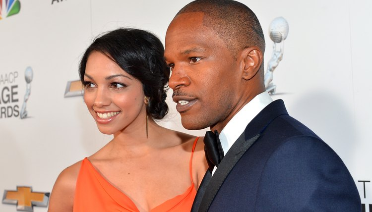 Jamie Fox at NAACP awards
