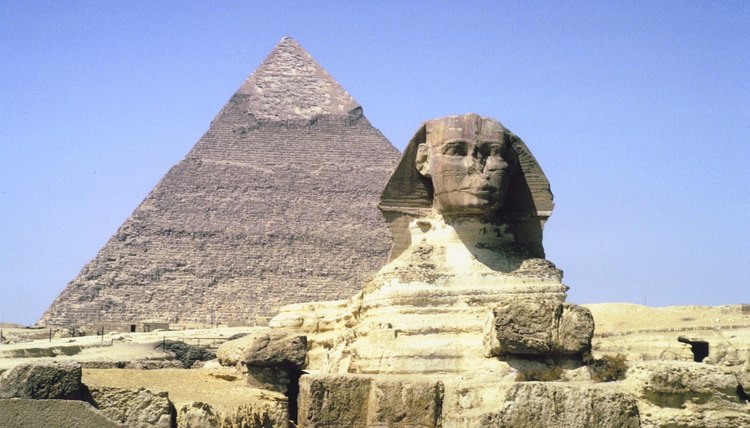Sphinxes are depicted in many cultures around the world.