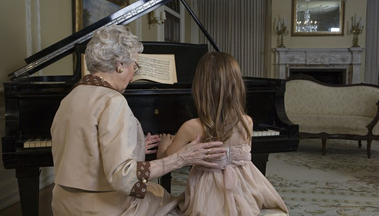 A piano can provide years of enjoyment for kids and adults alike
