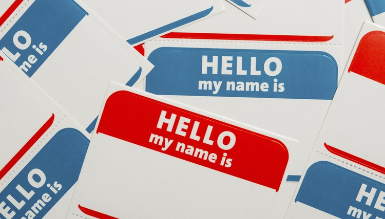dont overthink the name tags but do think outside the expected - Name Tag Design Ideas